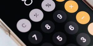 calculator iphone
